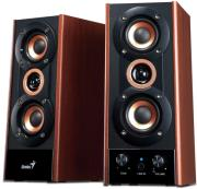 genius sp hf800a 3 way hi fi wood speakers photo
