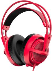 steelseries siberia 200 gaming headset forged red photo