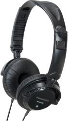 panasonic rp djs200 lightweight dj style headphones black photo