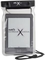 natec net 0685 extreme media waterproof neck case for 6 e book reader grey photo