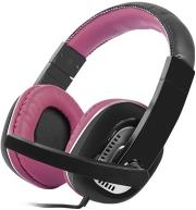 natec nsl 0713 kingfisher headphones with microphone purple photo