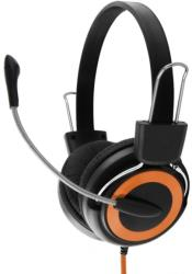 esperanza eh152o stereo headphones with microphone falcon orange photo