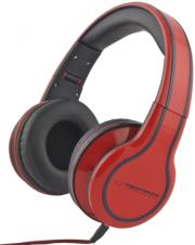 esperanza eh136r stereo audio headphones blues red photo