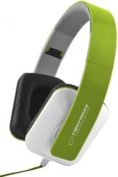 esperanza eh137g stereo audio headphones jazz green photo