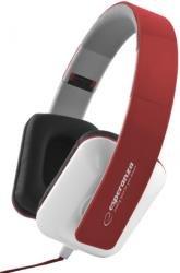 esperanza eh137r stereo audio headphones jazz red photo