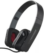 esperanza eh143k stereo audio headphones aruba black photo