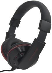 esperanza eh144k stereo audio headphones coral black photo