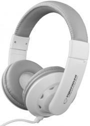 esperanza eh144w stereo audio headphones coral white photo