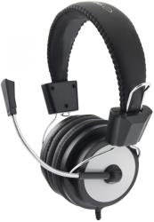 esperanza eh154k stereo headphones with microphone eagle black photo