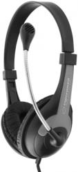 esperanza eh158k stereo headphones with microphone rooster black photo