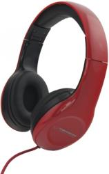 esperanza eh138r stereo audio headphones soul red photo
