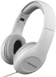 esperanza eh138w stereo audio headphones soul white photo