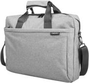 natec nto 0766 mustela 156 laptop carry bag grey photo