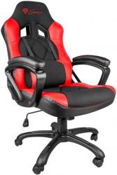 genesis nfg 0752 nitro 330 sx33 gaming chair black red photo