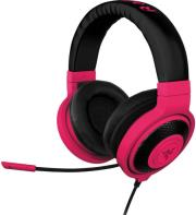 razer kraken pro neon analog gaming headset red photo