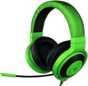 razer kraken pro green in line gaming headset photo