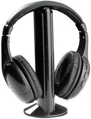 esperanza th110 wireless headphones built in radio fm photo