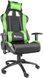 GENESIS NFG-0907 NITRO 550 GAMING CHAIR BLACK/GREEN gadgets   παιχνίδια   gaming chairs