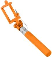 natec nst 0983 extreme media sf 20w selfie stick wired orange photo