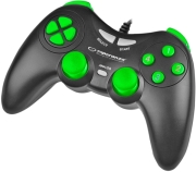esperanza egg105kg gamepad pc usb fighter black green photo