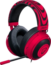 RAZER KRAKEN PRO V2 PEWDIEPIE BRO EDITION OVAL ANALOG GAMING HEADSET NEON RED υπολογιστές   ηχεία   μικρόφωνα