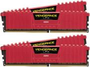 ram corsair cmk16gx4m4b3866c18r vengeance lpx red 16gb 4x4gb ddr4 3866mhz quad kit photo