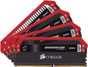 ram corsair cmd32gx4m4c3200c16 rog dominator platinum rog 32gb 4x8gb ddr4 3200mhz quad kit photo