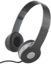 esperanza eh145k stereo audio headphones techno black photo