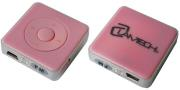 lamtech lam050516 mp3 player 8gb with fm radio pink photo