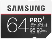 samsung mb sd64d eu 64gb sdxc pro plus class 10 photo