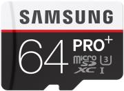 samsung mb md64da eu 64gb micro sdxc pro plus class 10 adapter photo