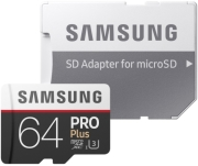 samsung mb md64ga eu pro plus 64gb micro sdxc u3 class 10 adapter photo