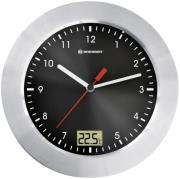bresser mytime bath wall clock black 8020110 photo