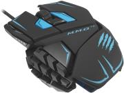 mad catz mmo te 8200dpi gaming mouse matt black photo