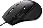 rapoo n6200 wired optical mouse black photo