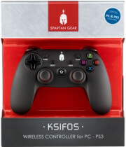SPARTAN GEAR KSIFOS WIRELESS CONTROLLER FOR PC / PS3 ηλεκτρονικά παιχνίδια   pc accessories