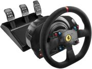 thrustmaster t300 ferrari integral racing wheel alcantara edition photo