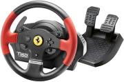 thrustmaster t150 ferrari racing wheel for pc ps4 ps3 photo