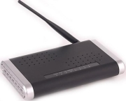 GEMBIRD NSW-R2 802.11G 54M 1 WAN + 4 LAN PORTS WIRELESS BROA...
