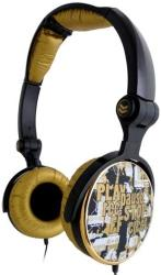 g cube a4 ghcr 109g g play stereo folding headphone gold photo
