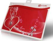 g cube a4 gse 17s enchanted heart soul trim to fit notebook skin 17  photo