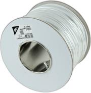 cablexpert ac 6 001 100m alarm cable 100m roll unshielded white photo
