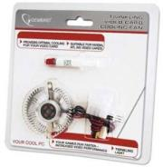 gembird vc rd twinkling video card cooling fan photo
