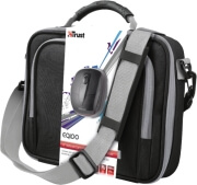 trust eqido 100 netbook carry bag wireless mouse photo