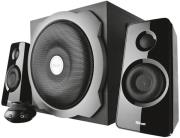 trust 19019 tytan 21 subwoofer speaker set black photo
