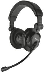 trust 16659 como headset black photo