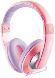 trust 19837 sonin kids headphone pink purple photo