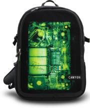 canyon cnl nb07x 156 notebook backpack with x rays inspired pattern photo