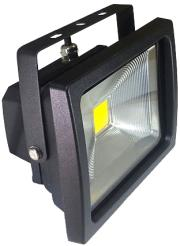 v tac vt 4720 20w led floodlight classic premium reflector graphite body 3000k photo