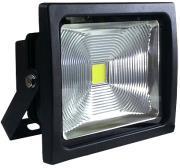 v tac vt 4750 50w led floodlight classic premium reflector black body cold white photo